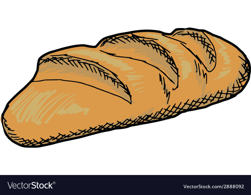 Long loaf vector | Price: 1 Credit (USD $1)