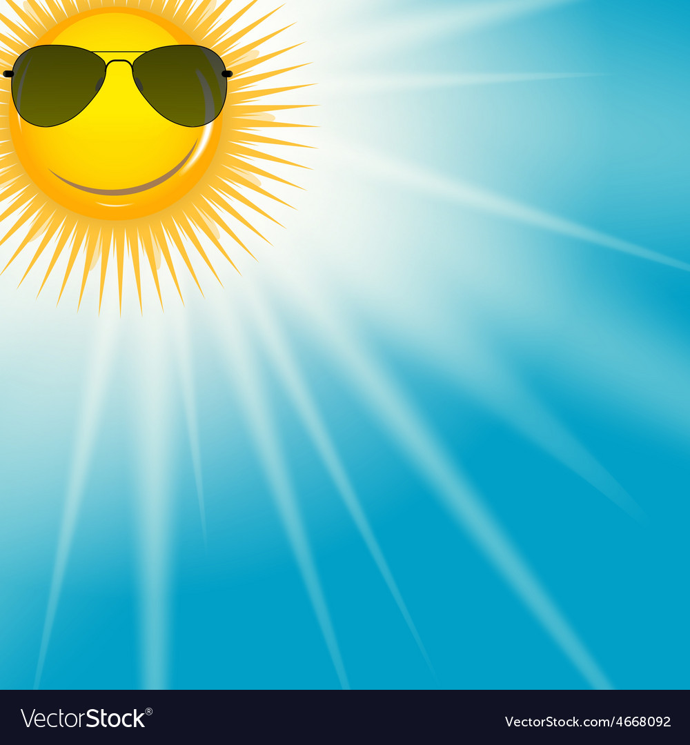Natural sunny background vector | Price: 1 Credit (USD $1)