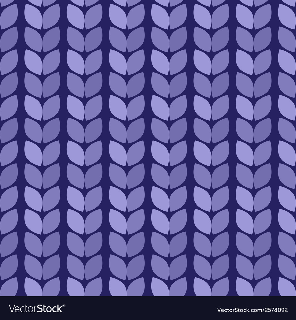 Seamless background knitted blue surface vector | Price: 1 Credit (USD $1)