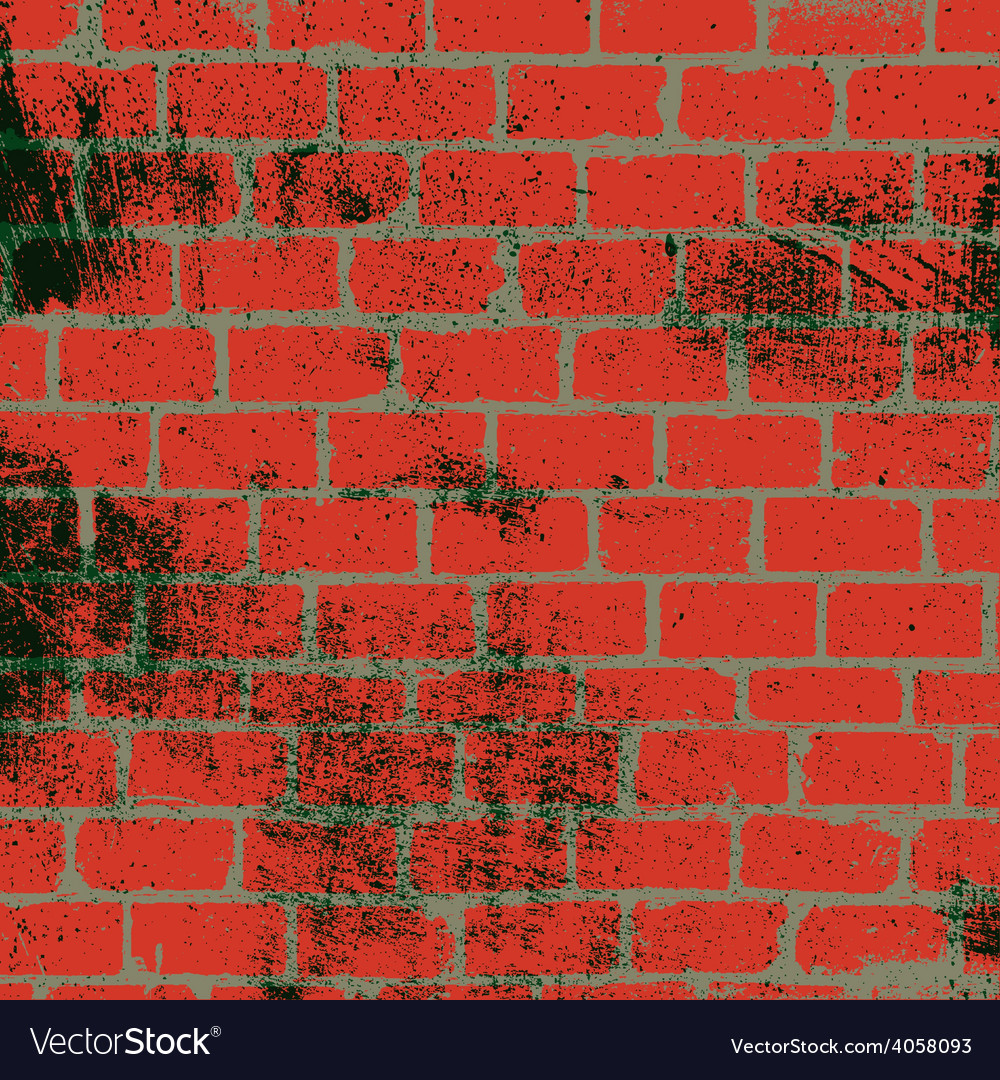 Messy brickwall texture vector | Price: 1 Credit (USD $1)