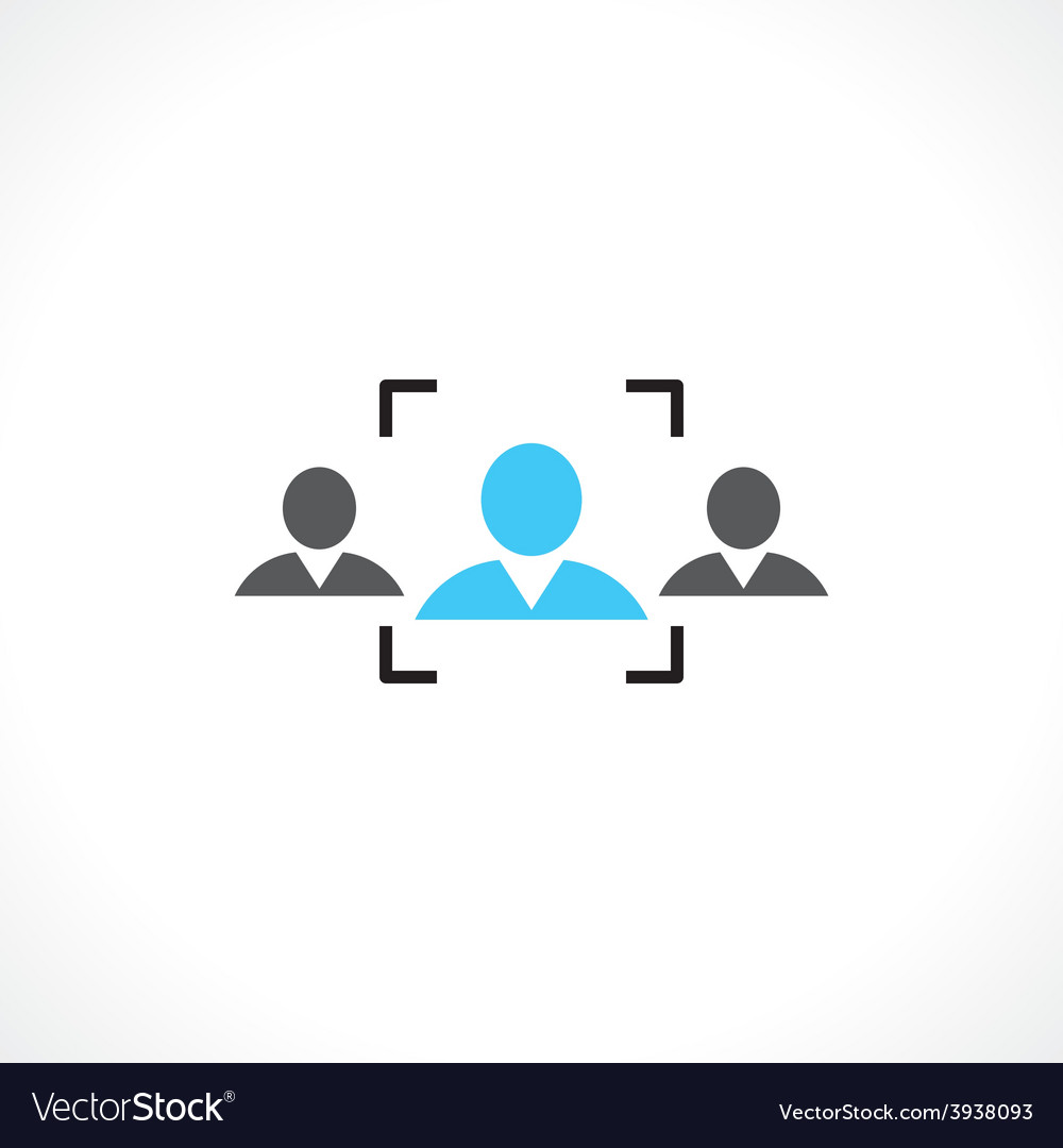 Recruitment people vector | Price: 1 Credit (USD $1)