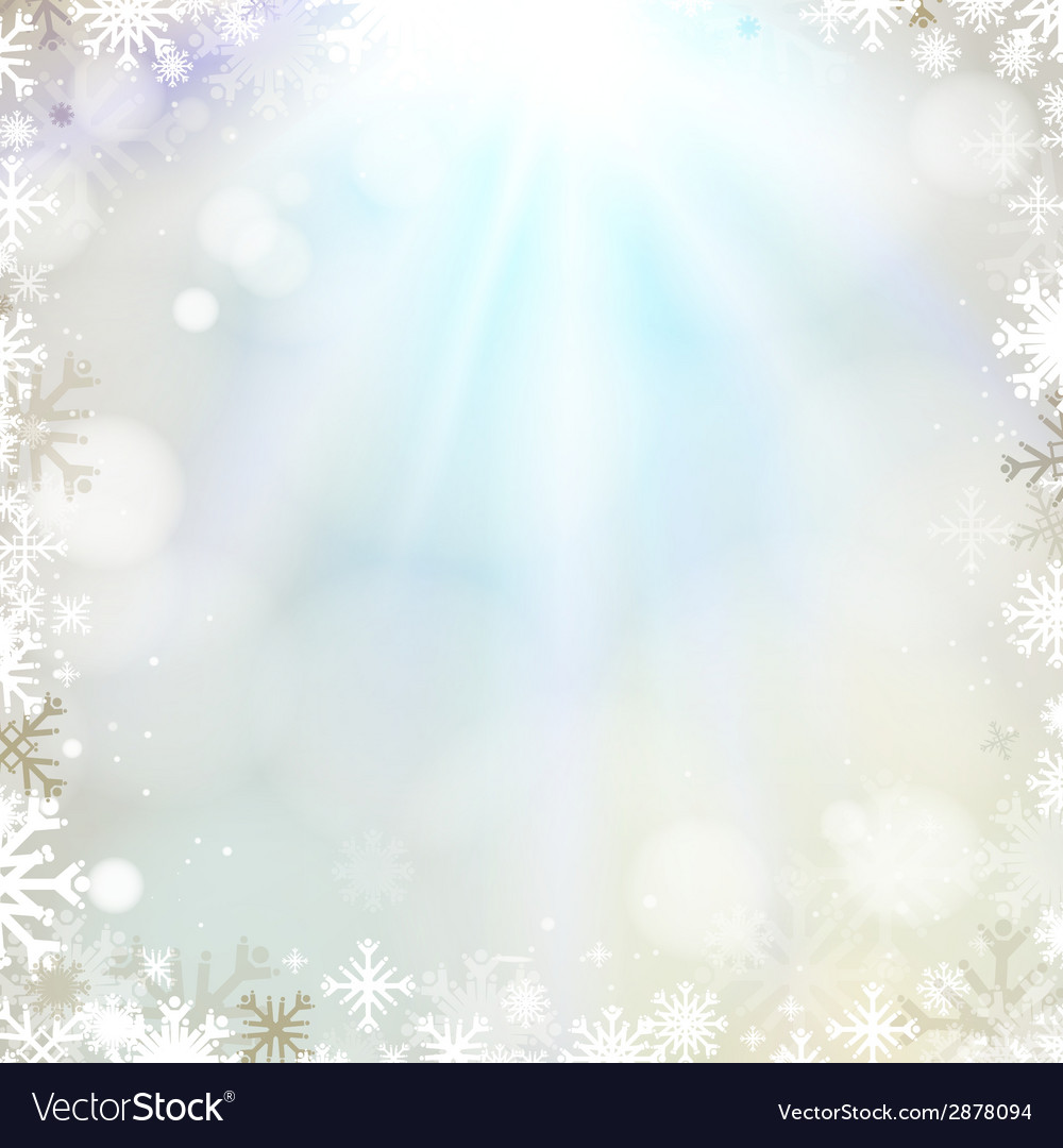 Abstract holiday christmas golden light background vector | Price: 1 Credit (USD $1)