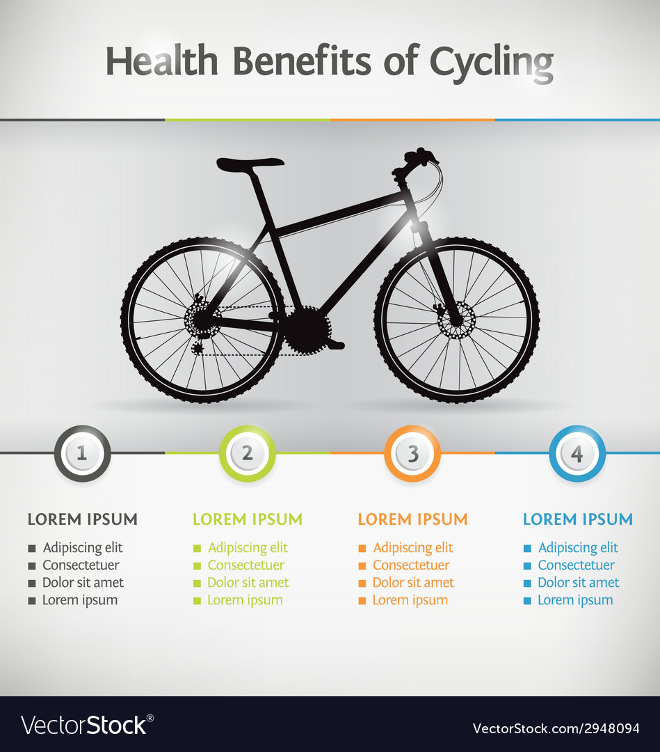 Bike infographic vector | Price: 1 Credit (USD $1)