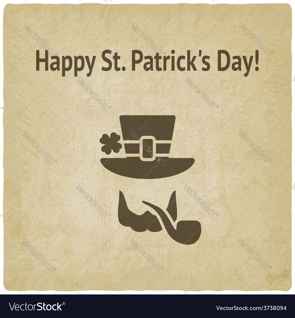 St patricks day card vector | Price: 1 Credit (USD $1)