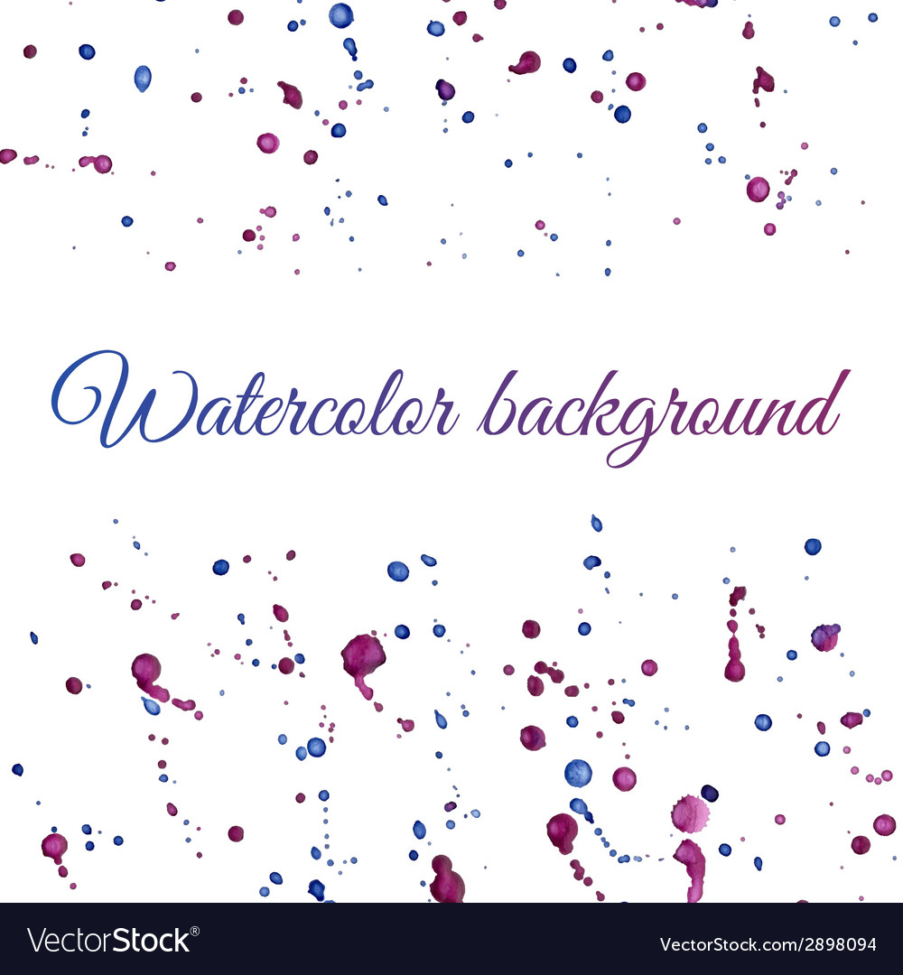 Watercolor background vector | Price: 1 Credit (USD $1)