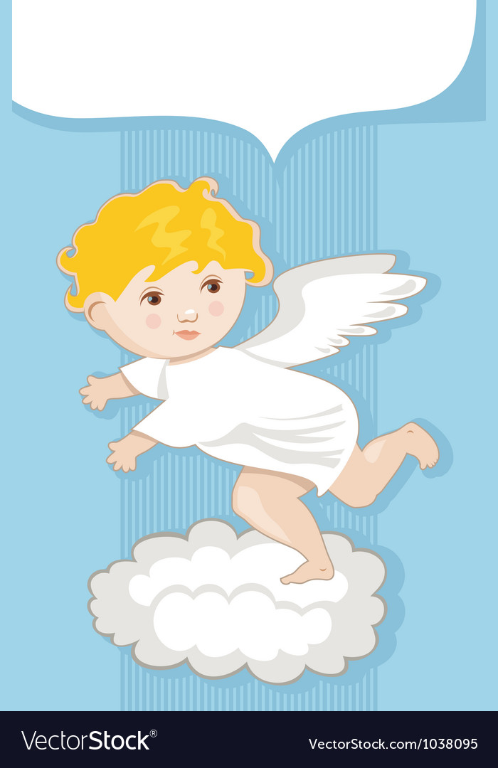 Angel background vector | Price: 1 Credit (USD $1)