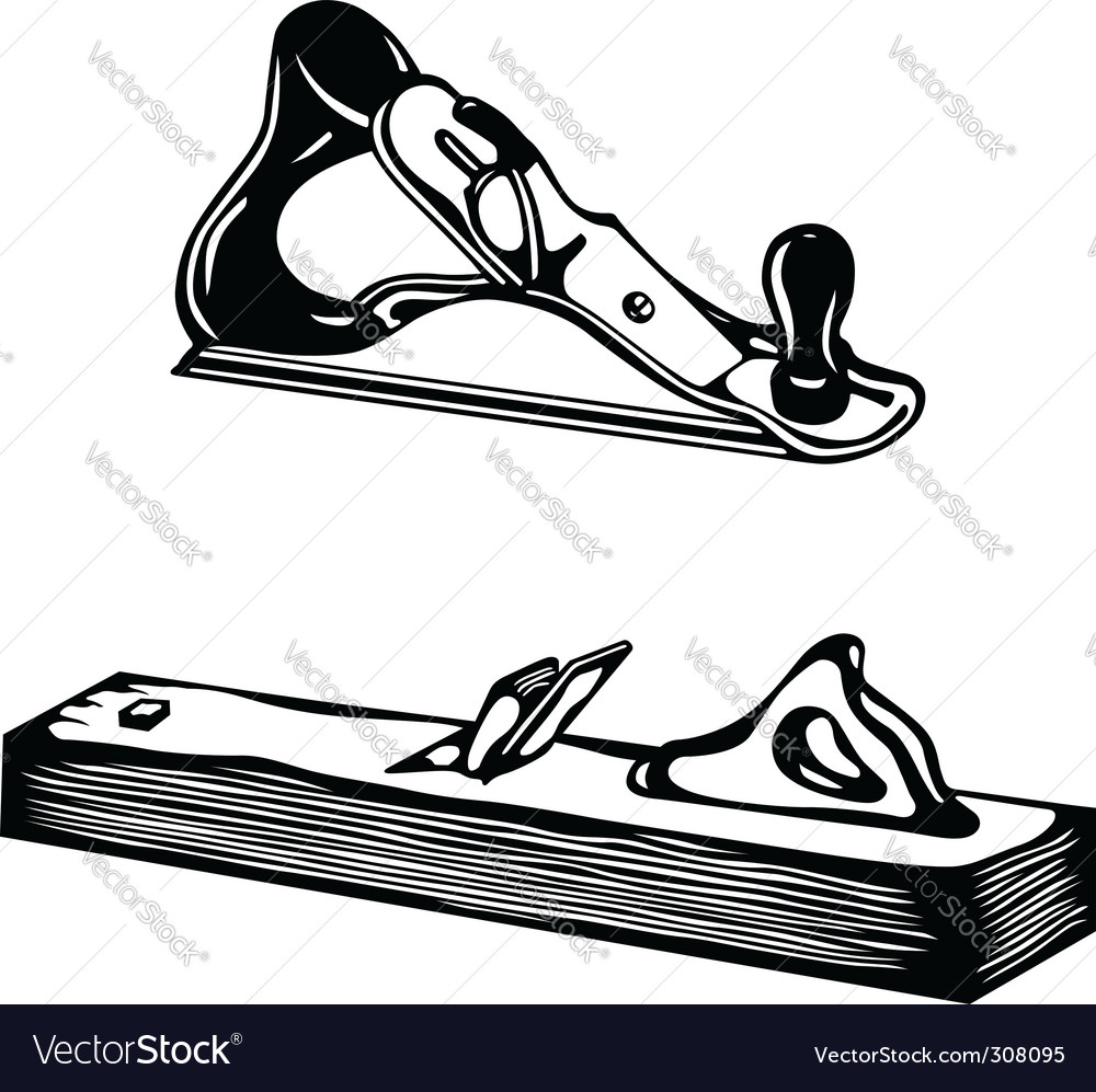bench plane vector | Price: 1 Credit (USD $1)