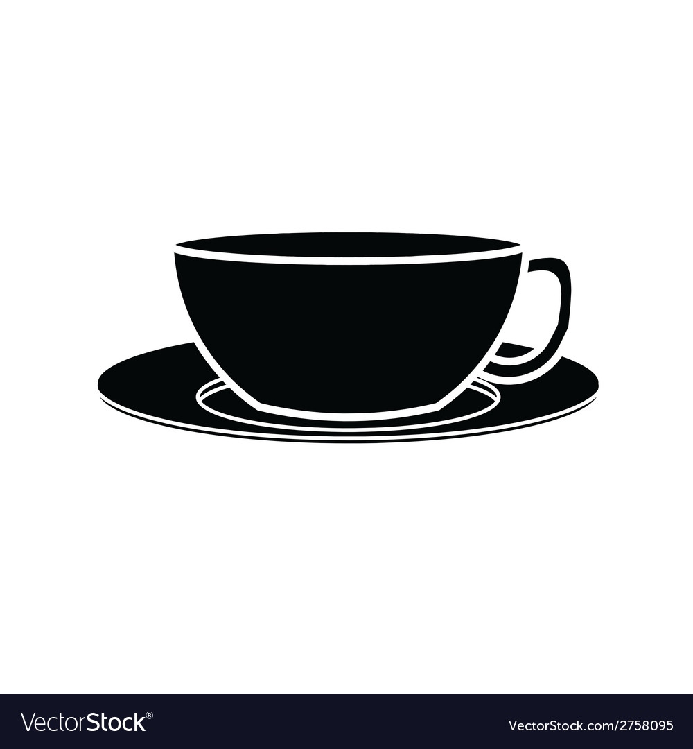 Coffee cup symbol vector | Price: 1 Credit (USD $1)