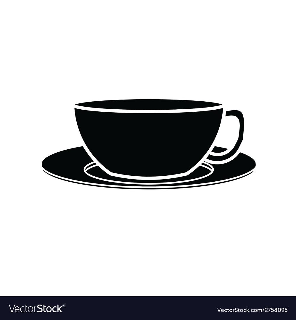 Coffee cup symbol vector | Price: 1 Credit (USD $1)