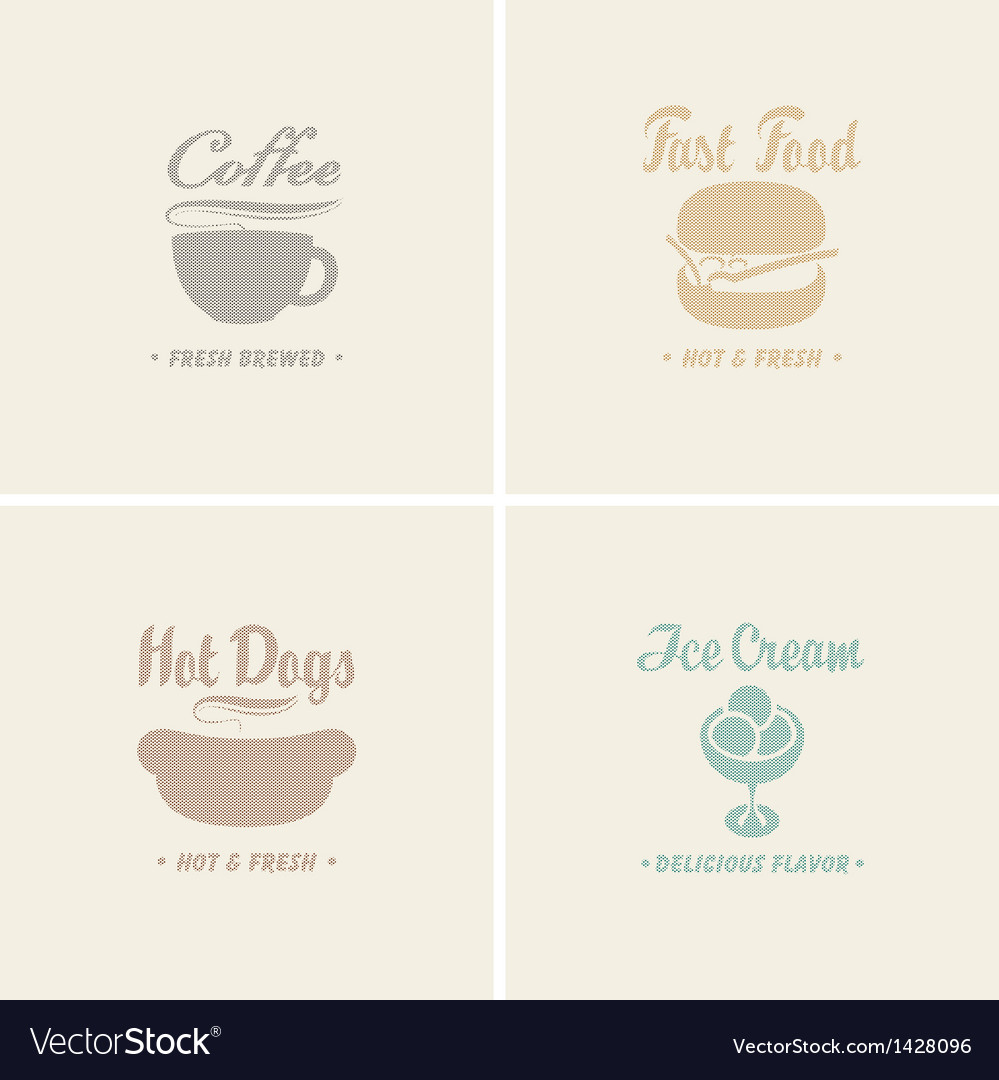 Fast food vector | Price: 3 Credit (USD $3)