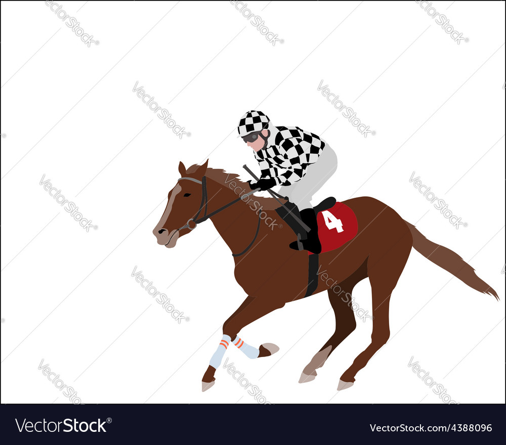 Jockey 2 vector | Price: 1 Credit (USD $1)