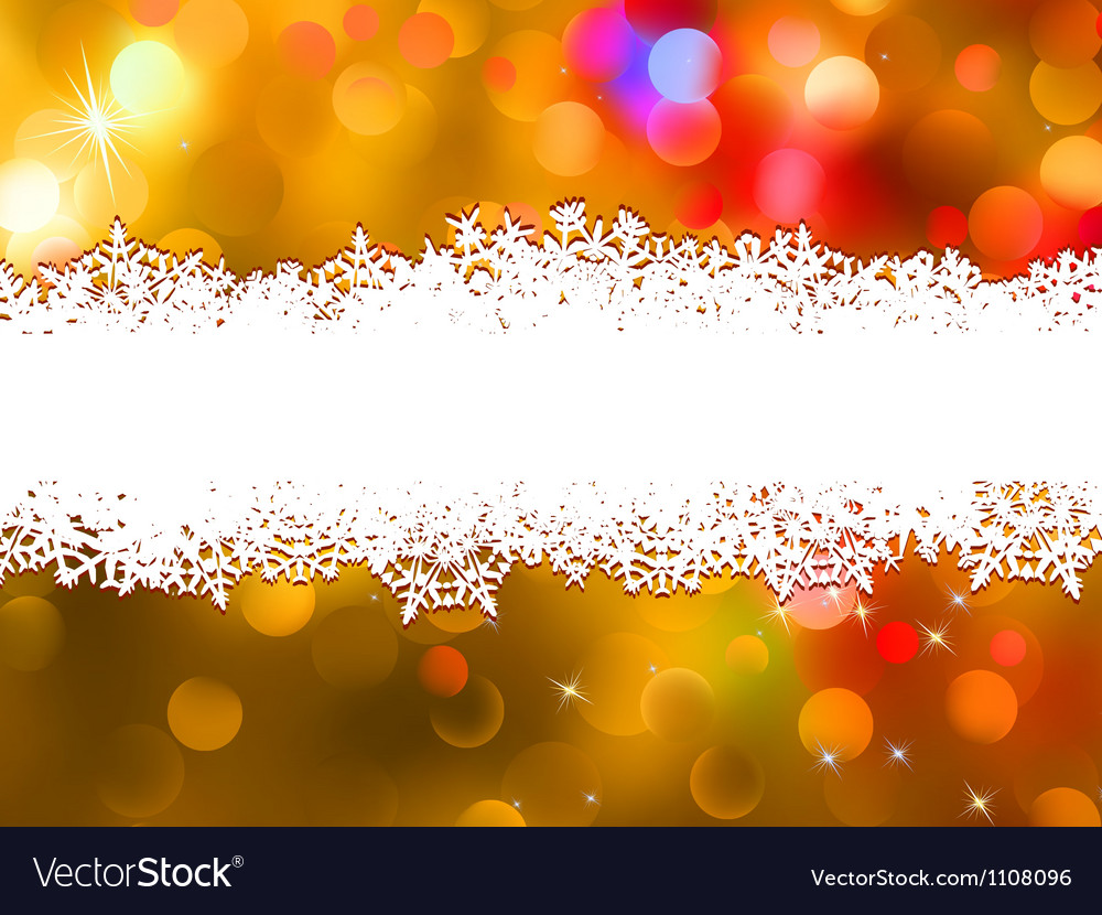 Orange christmas background with copyspace eps 8 vector | Price: 1 Credit (USD $1)