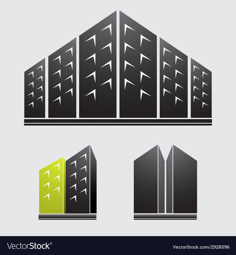 Skyscrapers vector | Price: 1 Credit (USD $1)