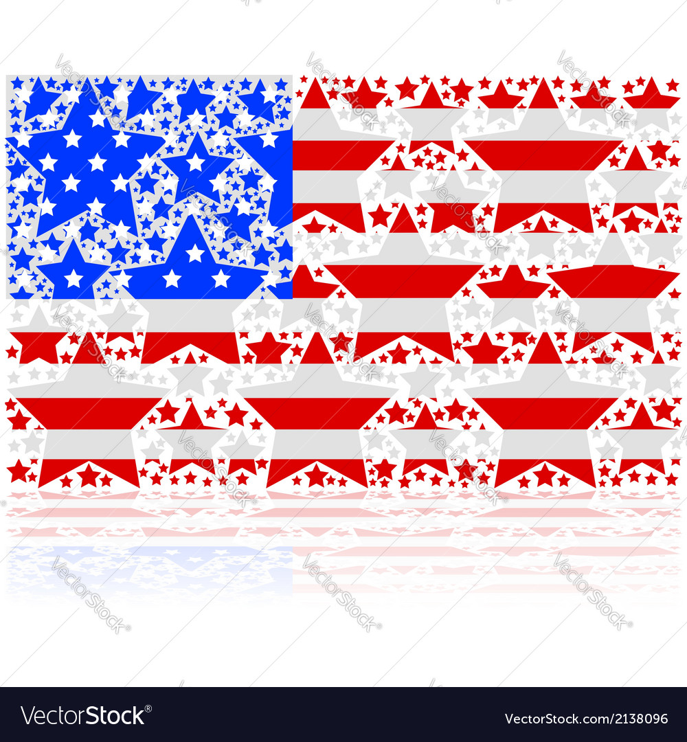 United states stars vector | Price: 1 Credit (USD $1)