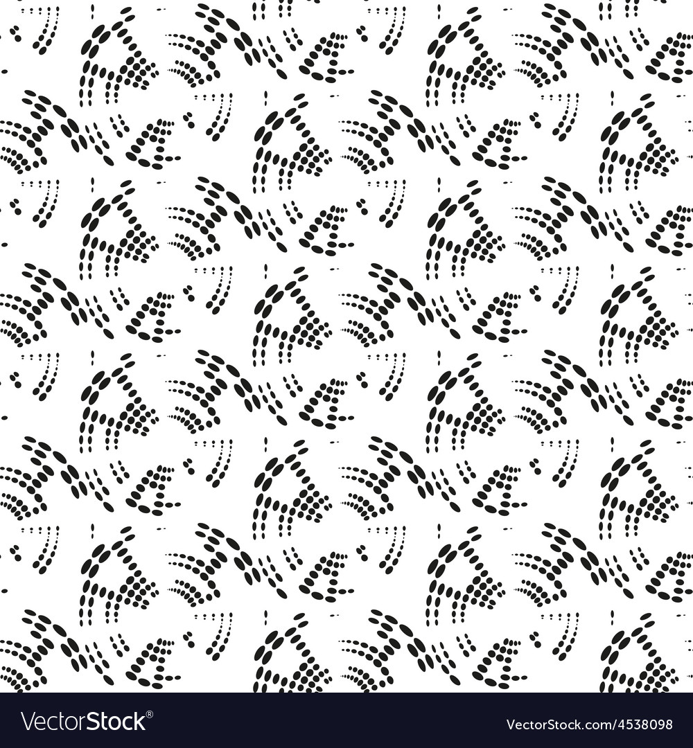 Dotted seamless pattern with circles repeating vector   Price: 1 Credit (USD $1)