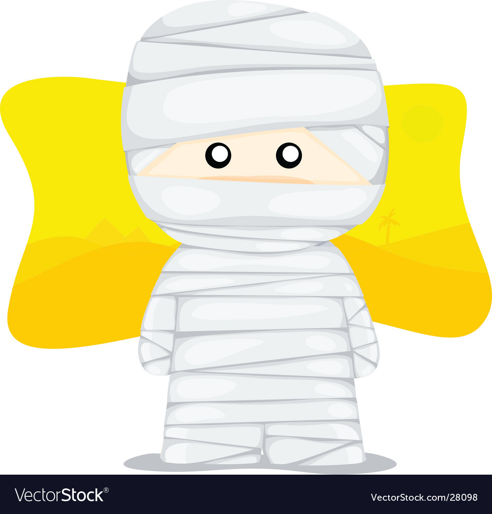 Little mummy vector | Price: 1 Credit (USD $1)