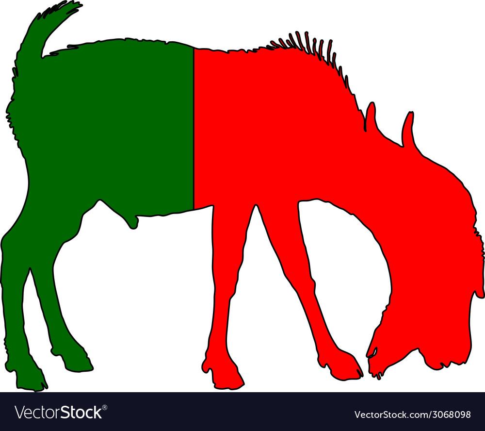 Portuguese he-goat vector   Price: 1 Credit (USD $1)