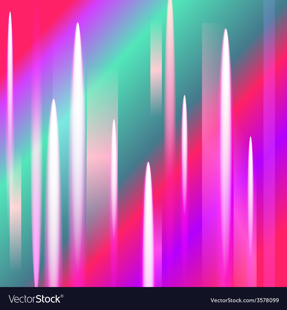 Abstract northern lights background with light pea vector | Price: 1 Credit (USD $1)