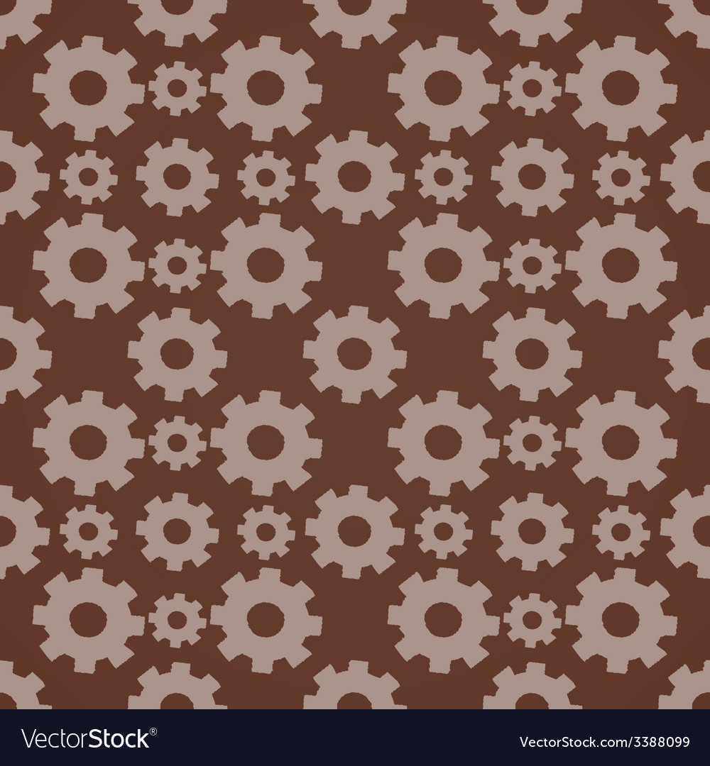 Seamless background with gears vector | Price: 1 Credit (USD $1)