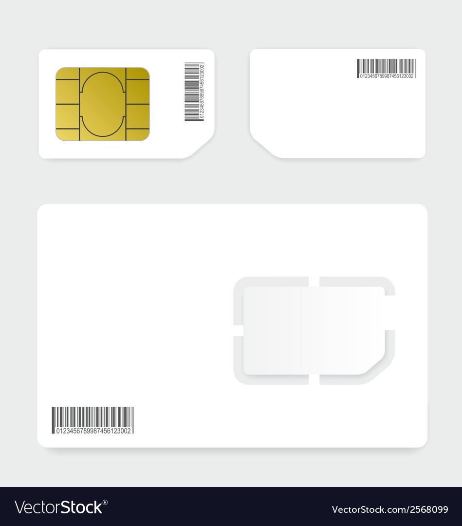 Sim card vector   Price: 1 Credit (USD $1)