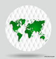World map and earth globes vector