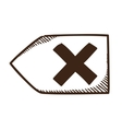 Delete decline rejected symbol vector