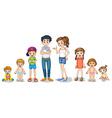 Family members vector