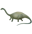 Herbivorous dinosaur vector