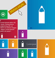 Plastic bottle with drink icon sign metro style vector