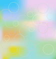 Blurred background of different colors vector