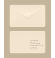 Post envelope vector