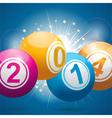 2014 bingo lottery balls vector