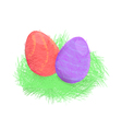 Hand drawn easter vector
