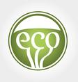 Eco green icon vector