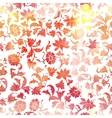 Seamless floral watercolor pattern background vector