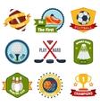 Sports logo set vector