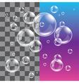 Bubble soap dark vector