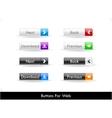 Web elements pack vector
