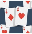 Casino poker seamless background vector