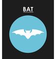 Bat design vector