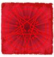 Symbol of satan vector