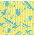 Seamless planes vector
