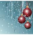 Christmas ice vector