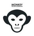 Monkey design vector