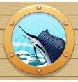 Sail fish vector