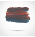 Abstract background with artistic paint banner vector