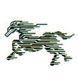 Horse of speed vector