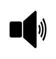 Speaker volume icon vector