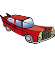Old car red vector