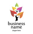 Logo and business environment vector